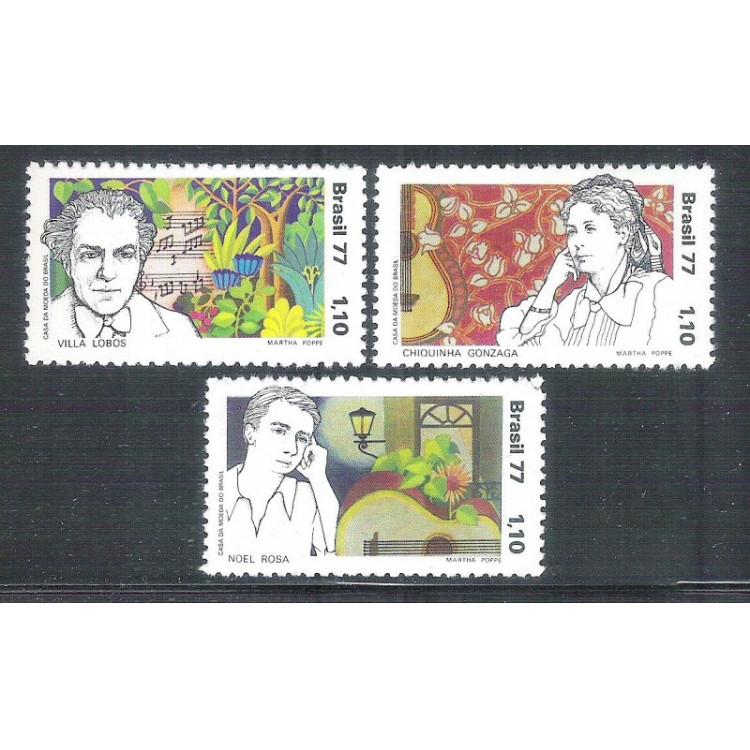1977 - C-0979-981 - Compositores Brasileiros. Música.