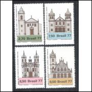 1977 - C-1024-7 - Arquitetura Religiosa no Brasil - Igrejas.