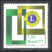 1977 - C-0978 - Lions Clubes do Brasil.