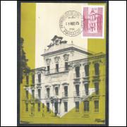 max039 - 1975  - Dia do Selo. Arquitetura.