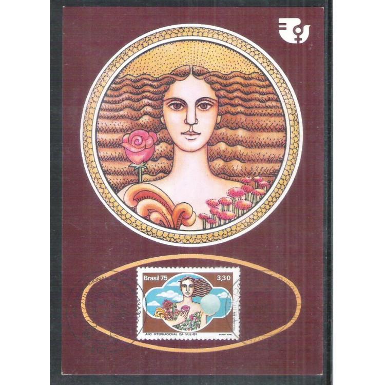 max040 - 1975  - Ano Internacional da Mulher.