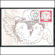max042 - 1975  -Natal. Religião. Anjos.