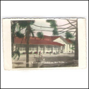Postal de Caldas-MG, Grande Hotel - Pocinhos do Rio Verde, circulado em 1951.