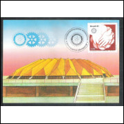 max066A - 1981 Rotary, mãos.