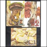 max104-6 - 1984 Fungos. Fauna e Flora.