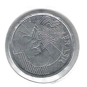 2009 - 50 Centavos, Reverso INVERTIDO.
