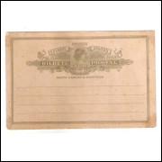 BP-82 - Bilhete Postal de 200 Réis, Cabeça da Liberdade, novo.