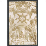 OP03 - Foto Postal Colombo, Ouro Preto, Igreja do Carmo.