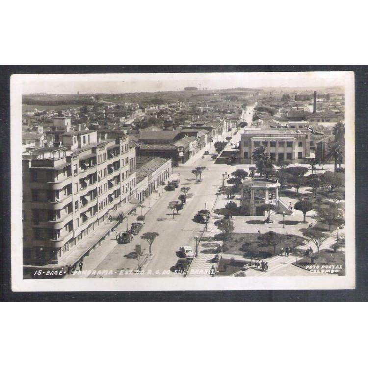BG01 - Foto Postal Colombo, Bagé, Rio Grande do Sul.