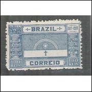 1917 - C-12 - Centenário da Revolução de Pernambuco,100 Réis, novo sem goma.