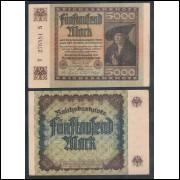 Alemanha (P.81) - 5.000 Mark, 1922, s/fe.