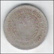 1900 - Brasil, 100 Réis, cuproníquel, DATA RARA.
