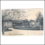 SP63 - Postal antiga, São Paulo, Instituto Vaccinogenico, atual Adolfo Lutz. Medicina.