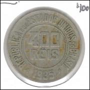 1935 - Brasil, 400 Réis, cuproníquel, mbc.